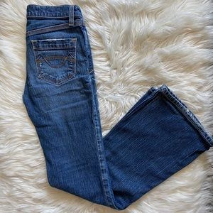 Mossimo ultra low bootcut jeans